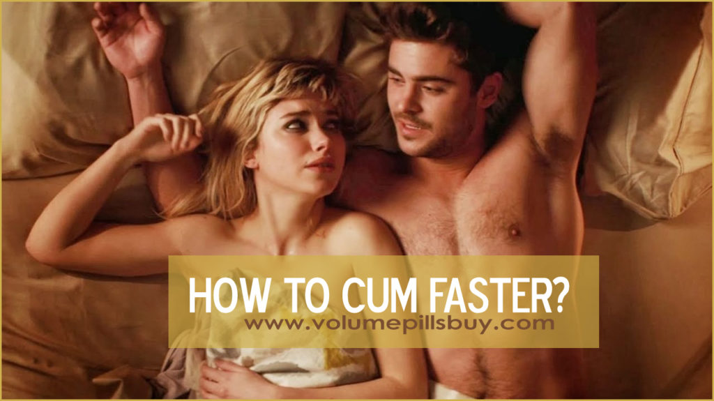 how to ejaculate faster