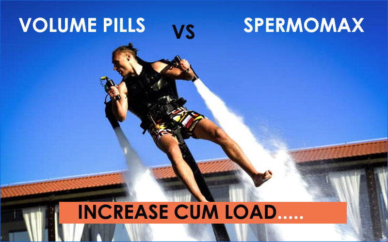 Volume pills vs Spermomax