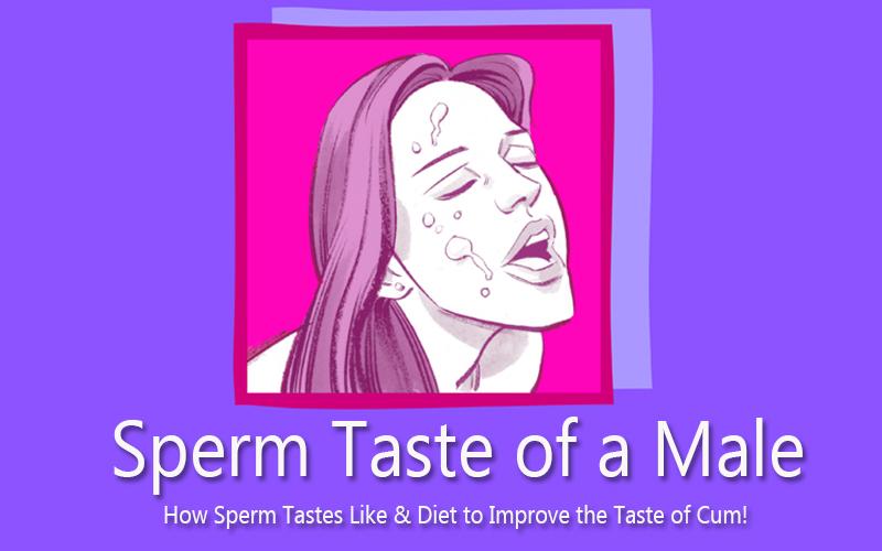 Sperm Taste of a Male