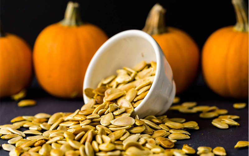 Sesame and Pumpkin Seeds